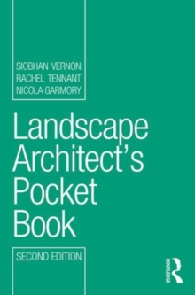 Landscape Architect's Pocket Book, Paperback / softback Book