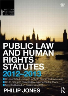 Public Law and Human Rights Statutes, Paperback / softback Book