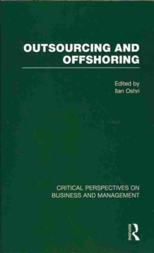 Outsourcing and Offshoring, Hardback Book