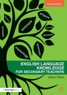 English Language Knowledge for Secondary Teachers, Paperback / softback Book