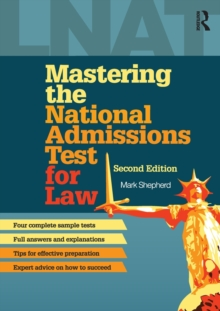 Mastering the National Admissions Test for Law, Paperback Book