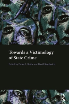 Towards a Victimology of State Crime, Hardback Book