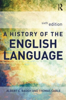 A History of the English Language, Paperback Book