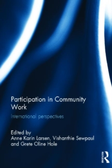 Participation in Community Work : International Perspectives, Hardback Book
