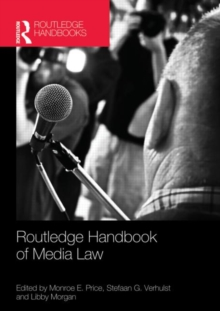 Routledge Handbook of Media Law, Hardback Book