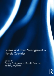 Festival and Event Management in Nordic Countries, Hardback Book