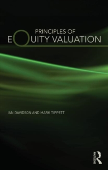 Principles of Equity Valuation, Paperback / softback Book