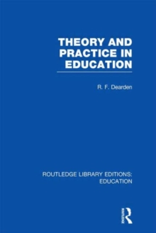 Theory & Practice in Education, Hardback Book