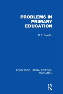 Problems in Primary Education, Hardback Book