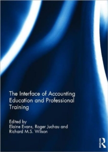 The Interface of Accounting Education and Professional Training, Hardback Book