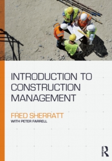 Introduction to Construction Management, Paperback / softback Book