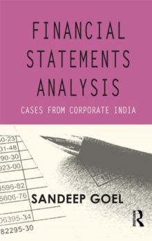 Financial Statements Analysis : Cases from Corporate India, Hardback Book
