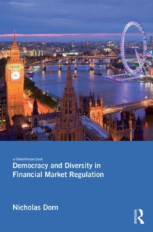 Democracy and Diversity in Financial Market Regulation, Hardback Book
