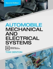 Automobile Mechanical and Electrical Systems, Second Edition, Paperback Book