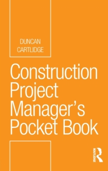 Construction Project Manager's Pocket Book, Paperback Book