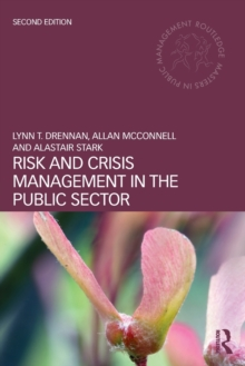 Risk and Crisis Management in the Public Sector, Paperback Book