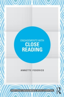 Engagements with Close Reading, Paperback / softback Book