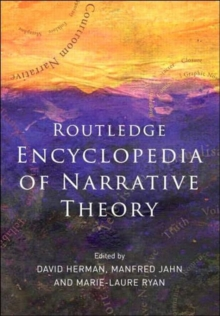 Routledge Encyclopedia of Narrative Theory, Paperback Book