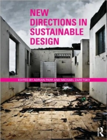 New Directions in Sustainable Design, Paperback Book