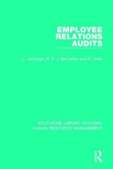 Employee Relations Audits, Paperback / softback Book