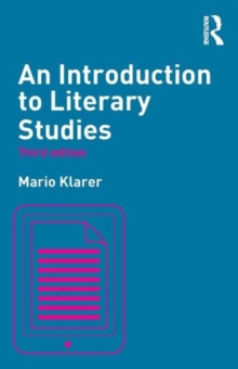 An Introduction to Literary Studies, Paperback Book