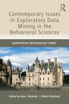 Contemporary Issues in Exploratory Data Mining in the Behavioral Sciences, Paperback / softback Book