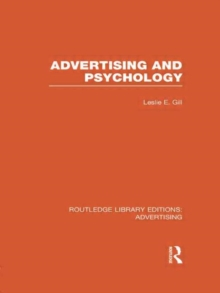 Advertising and Psychology, Hardback Book
