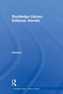 Routledge Library Editions: Hamlet, Hardback Book