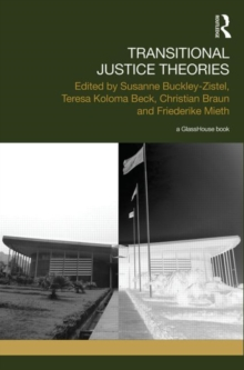 Transitional Justice Theories, Hardback Book