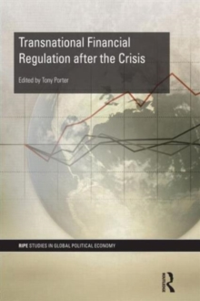 Transnational Financial Regulation after the Crisis, Paperback / softback Book