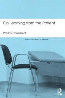 On Learning from the Patient, Paperback Book