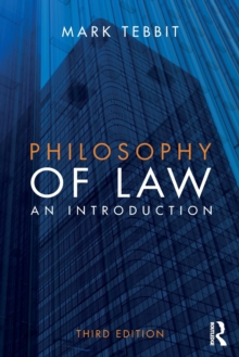 Philosophy of Law : An introduction, Paperback Book