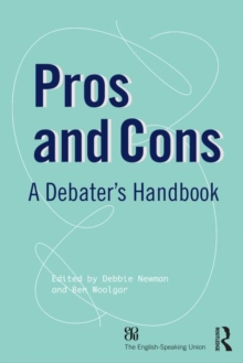 Pros and Cons : A Debaters Handbook, Paperback Book