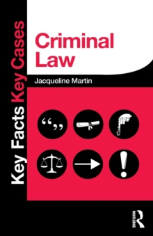 Criminal Law, Paperback Book