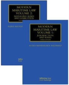 Modern Maritime Law (Volumes 1 and 2), Hardback Book
