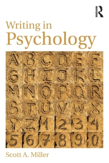 Writing in Psychology, Paperback / softback Book