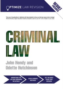 Optimize Criminal Law, Paperback Book