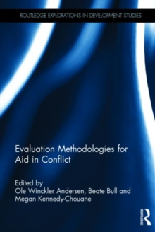 Evaluation Methodologies for Aid in Conflict, Hardback Book