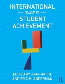 International Guide to Student Achievement, Paperback / softback Book
