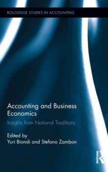 Accounting and Business Economics : Insights from National Traditions, Hardback Book