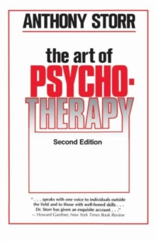 The Art of Psychotherapy, Paperback Book