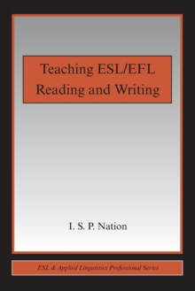 Teaching ESL/EFL Reading and Writing, Paperback Book