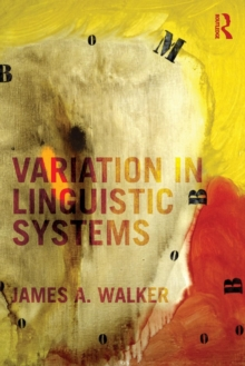 Variation in Linguistic Systems, Paperback / softback Book
