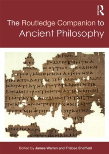 Routledge Companion to Ancient Philosophy, Hardback Book