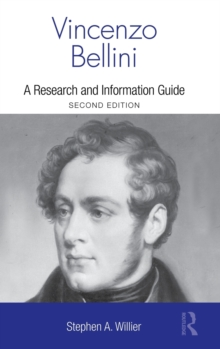 Vincenzo Bellini : A Guide to Research, Hardback Book