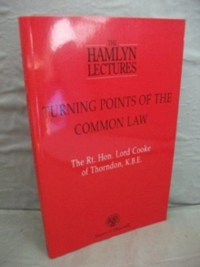 Turning Points of the Common Law, Paperback / softback Book