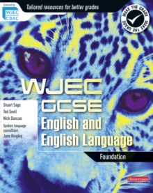 WJEC GCSE English and English Language Foundation Student Book, Paperback Book