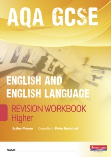 Revise GCSE AQA English/Language Workbook - Higher, Paperback Book
