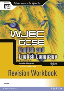 WJEC GCSE English and English Language Higher Revision Workbook, Paperback Book