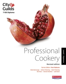 City & Guilds 7100 Diploma in Professional Cookery Level 1 Candidate Handbook, Revised Edition, Paperback Book